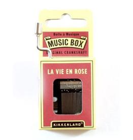 La Vie En Rose Music Box
