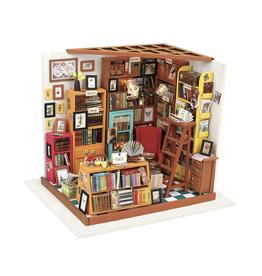 DIY Miniature House Kit : Sam's Study