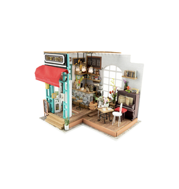 DIY Miniature House Kit : Simon's Coffee
