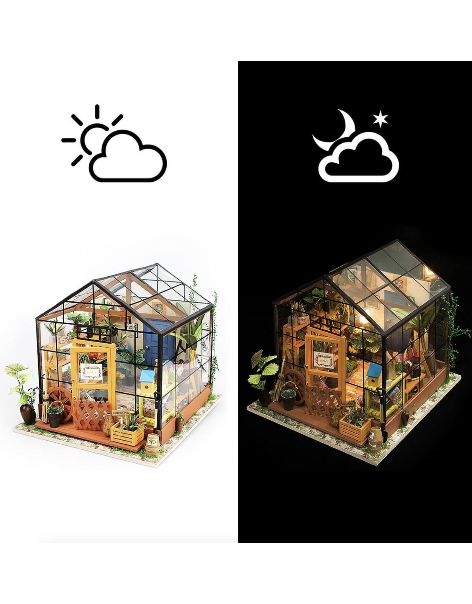 DIY Miniature House Kit : Cathy's Flower House