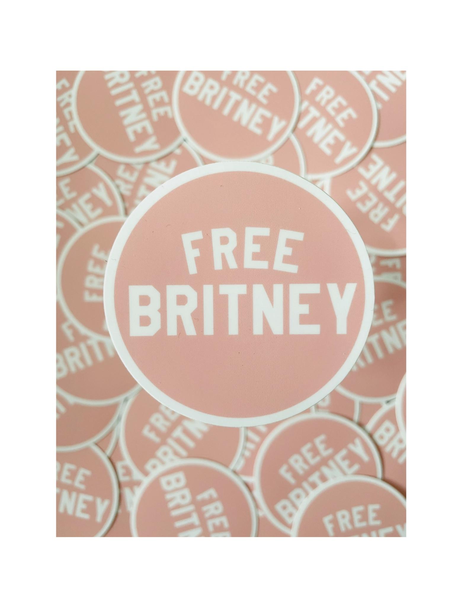 Free Britney Sticker
