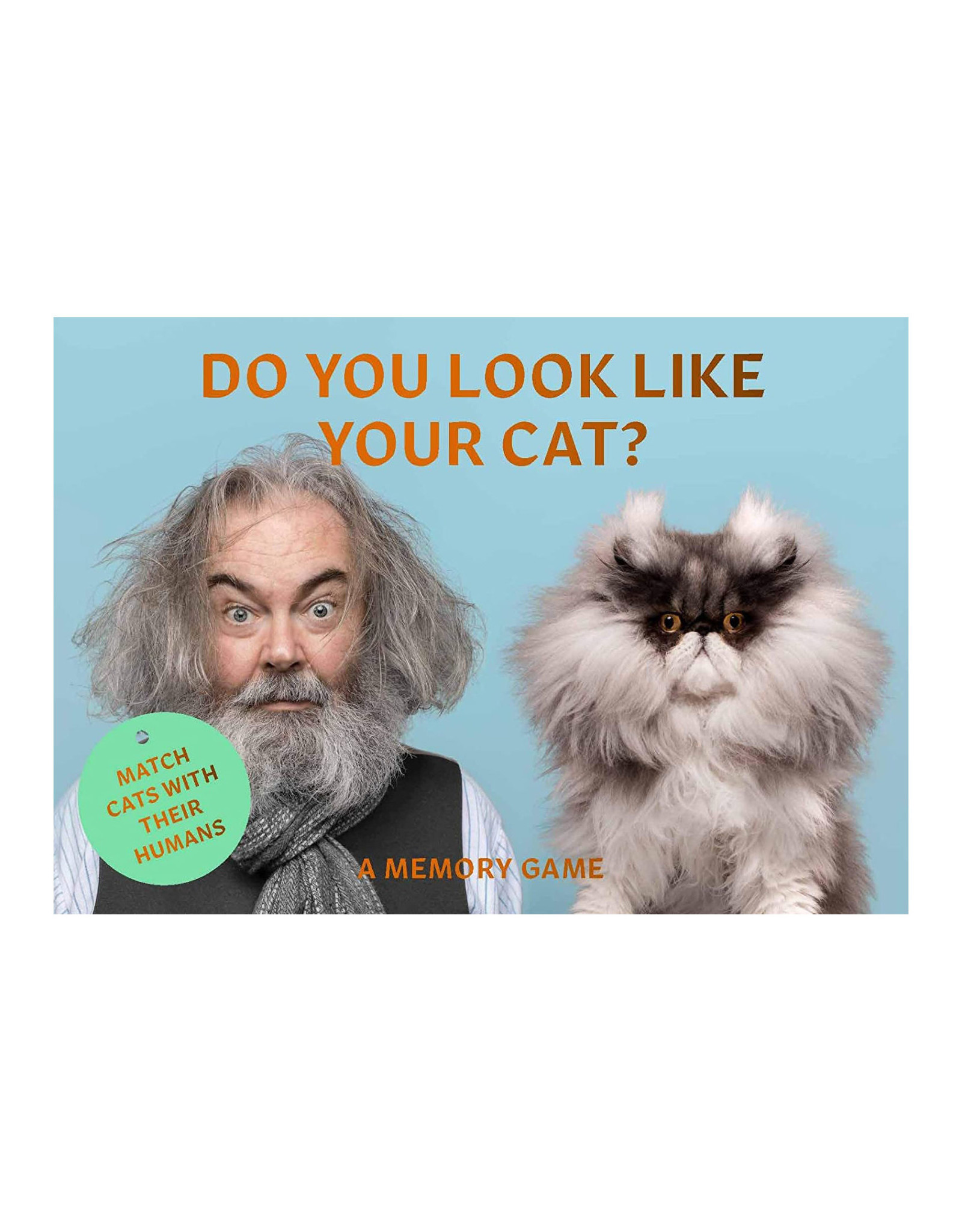 Do You Look Like Your Cat? Memory Game