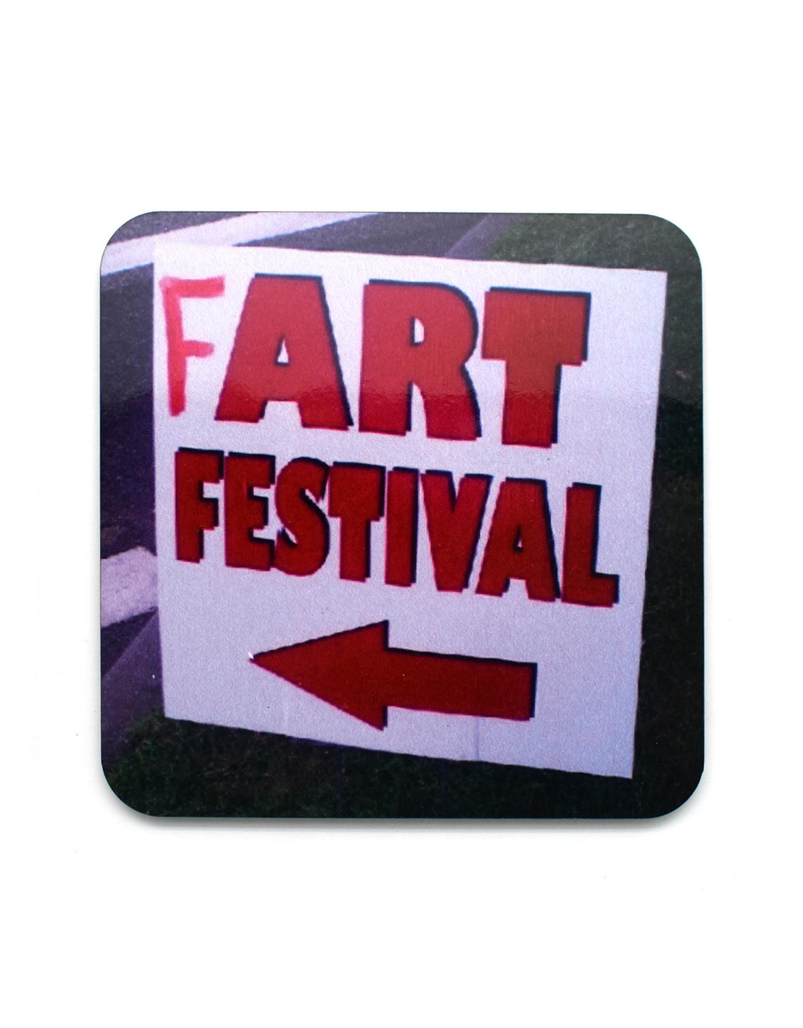Fart Festival Coaster