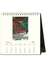 2022 Desk Calendar: Japanese Woodblock