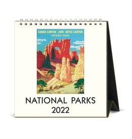 2022 Desk Calendar: National Parks
