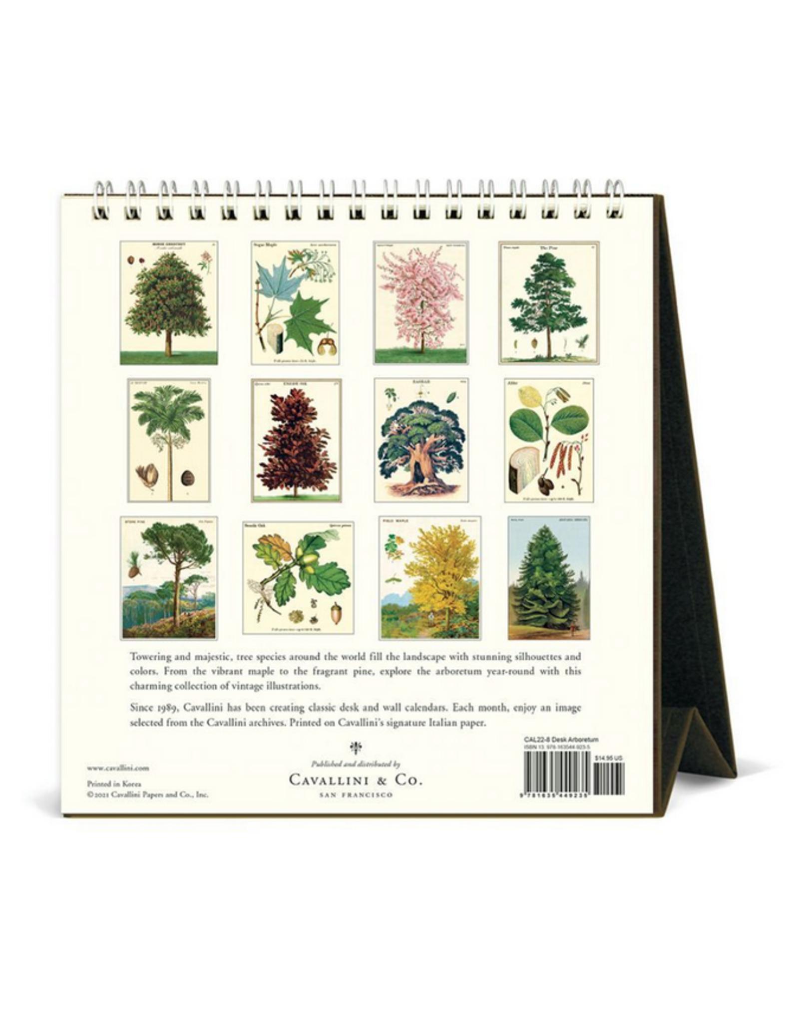 2022 Desk Calendar: Arboretum