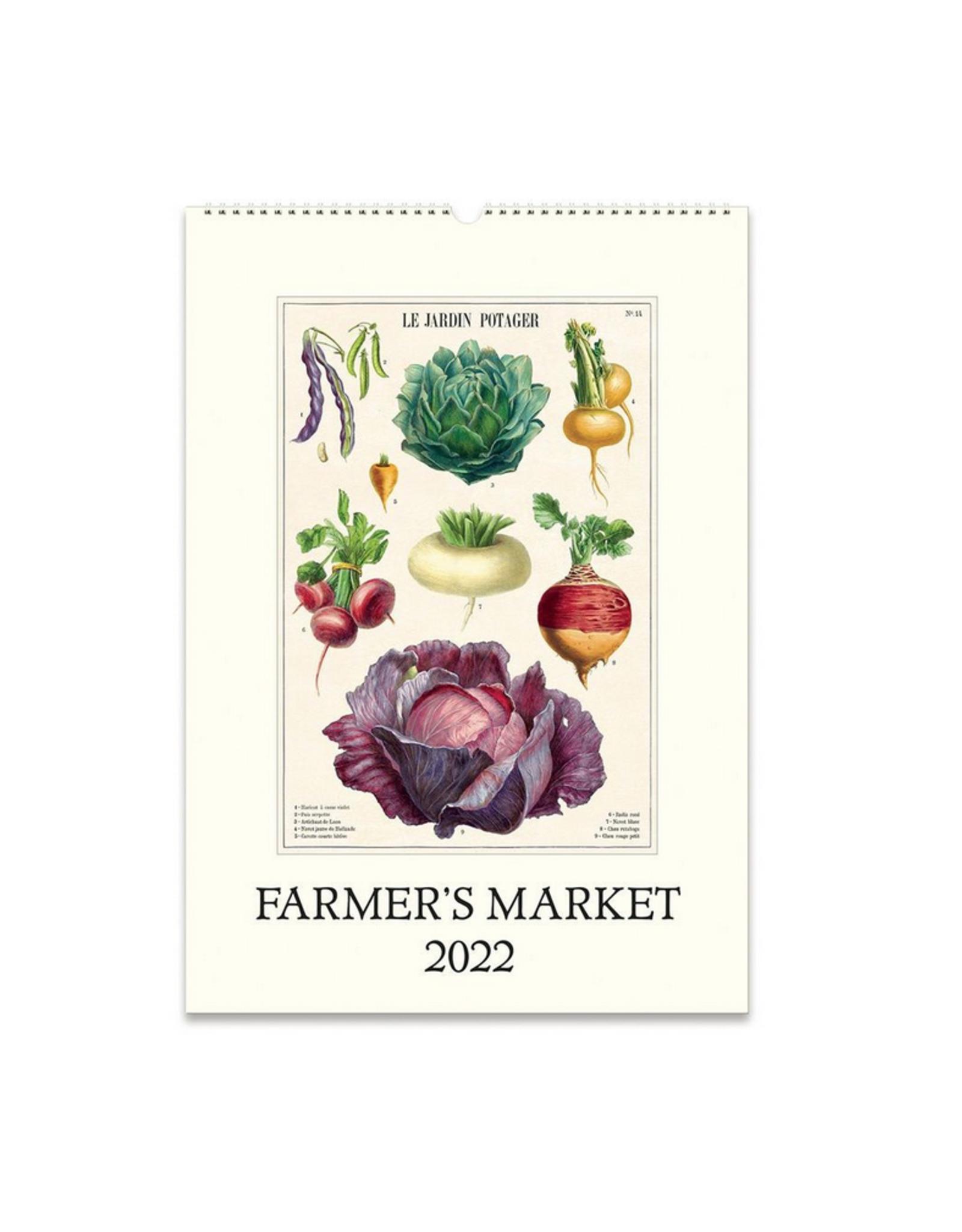 2022 Wall Calendar : Farmer's Market