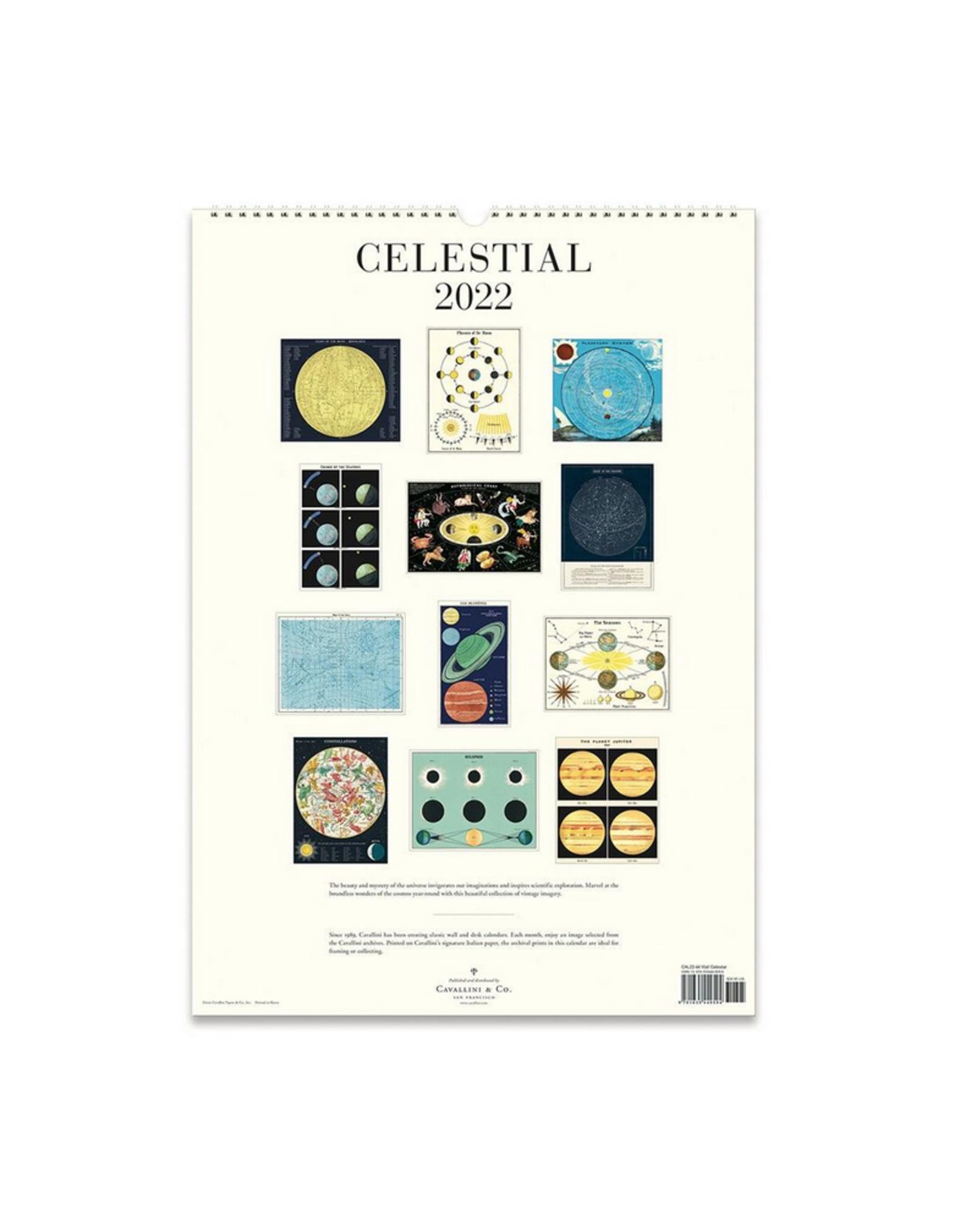 2022 Wall Calendar : Celestial