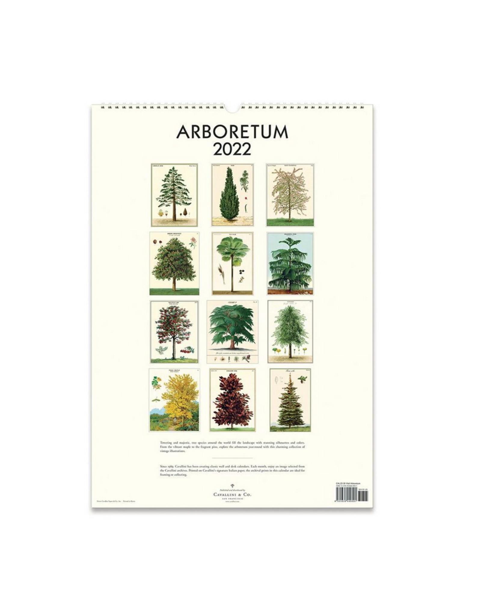 2022 Wall Calendar : Arboretum