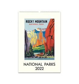 2022 Wall Calendar : National Parks