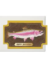 Mounted Fish Birthday Greeting Card