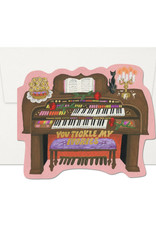 You Tickle My Ivories Piano Greeting Card
