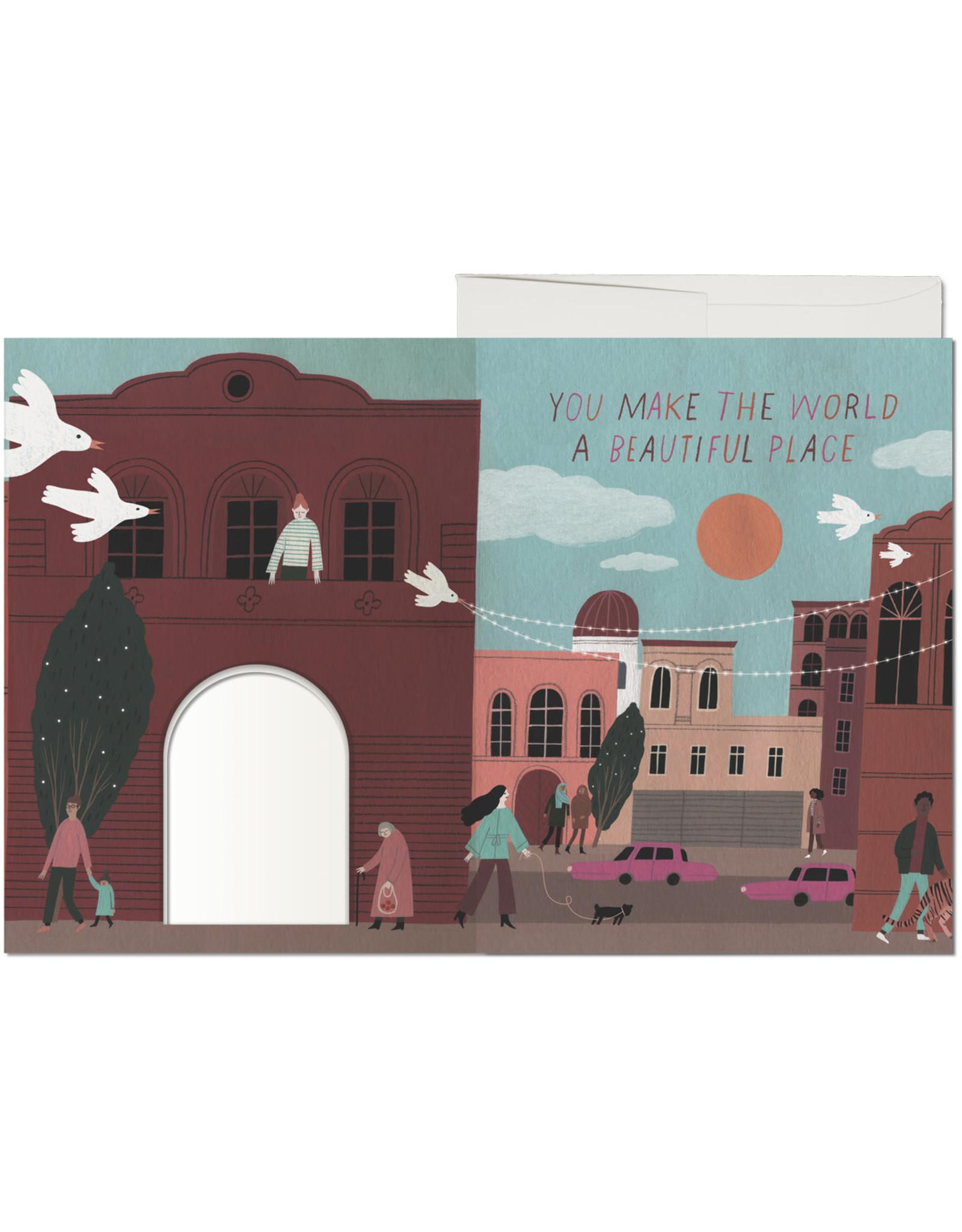 Beautiful Place Balcony Greeting Card