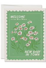 Welcome to the Wild World Stamp Greeting Card