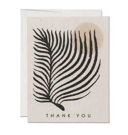 Palm Sun Thank You Greeting Cards Set of 8