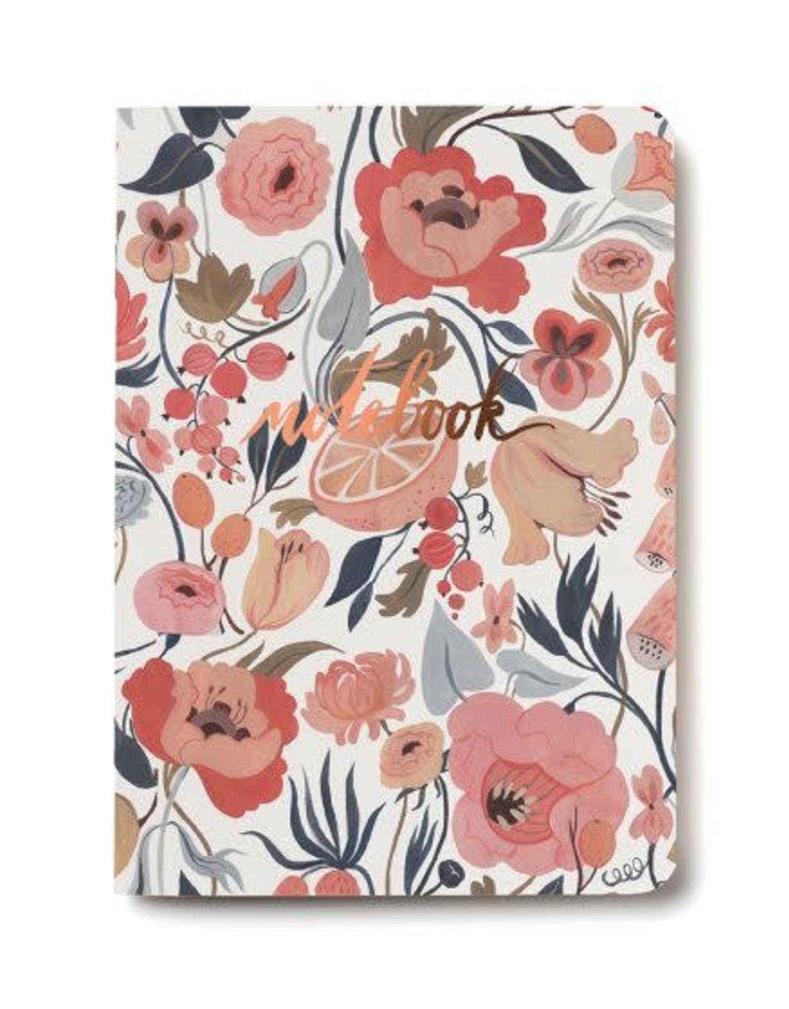 Citrus Peach Notebook