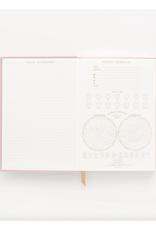 Radiant Rainbow Suede Journal - Pink