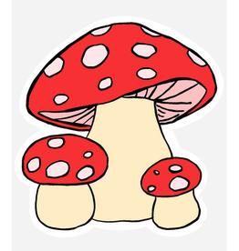 Mushrooms Sticker