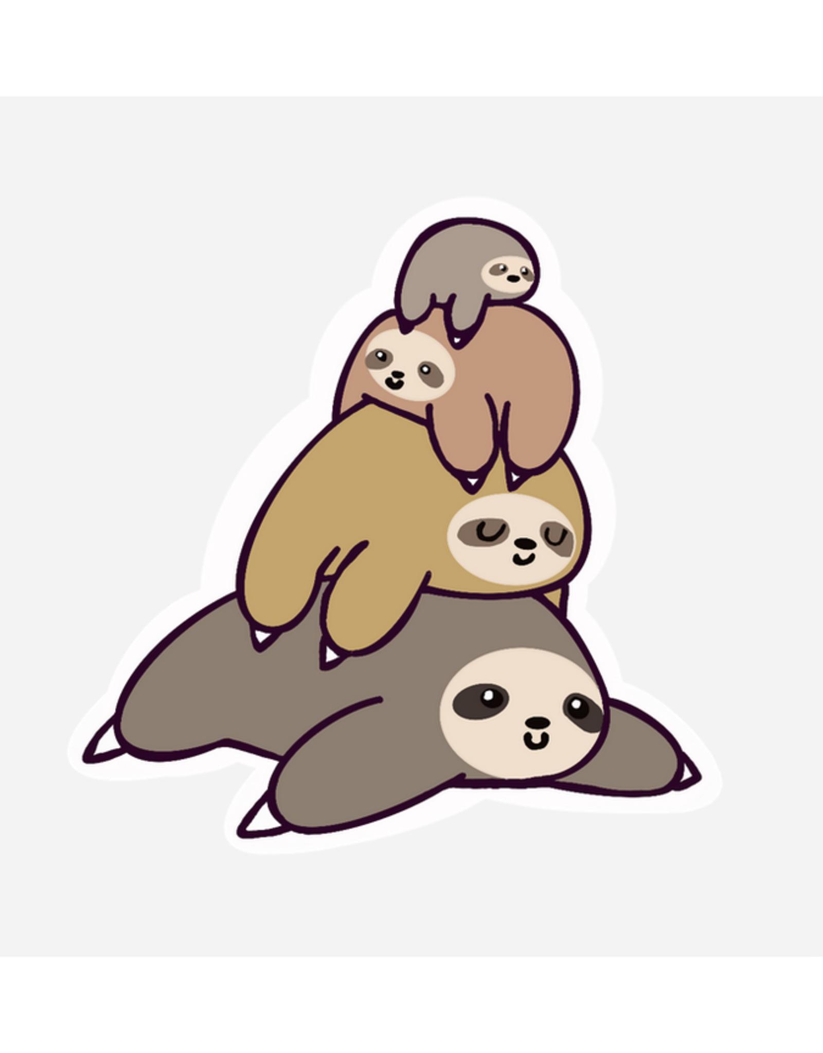 Sloth Pile Sticker