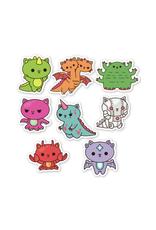Kaiju Kitty Sticker Pack