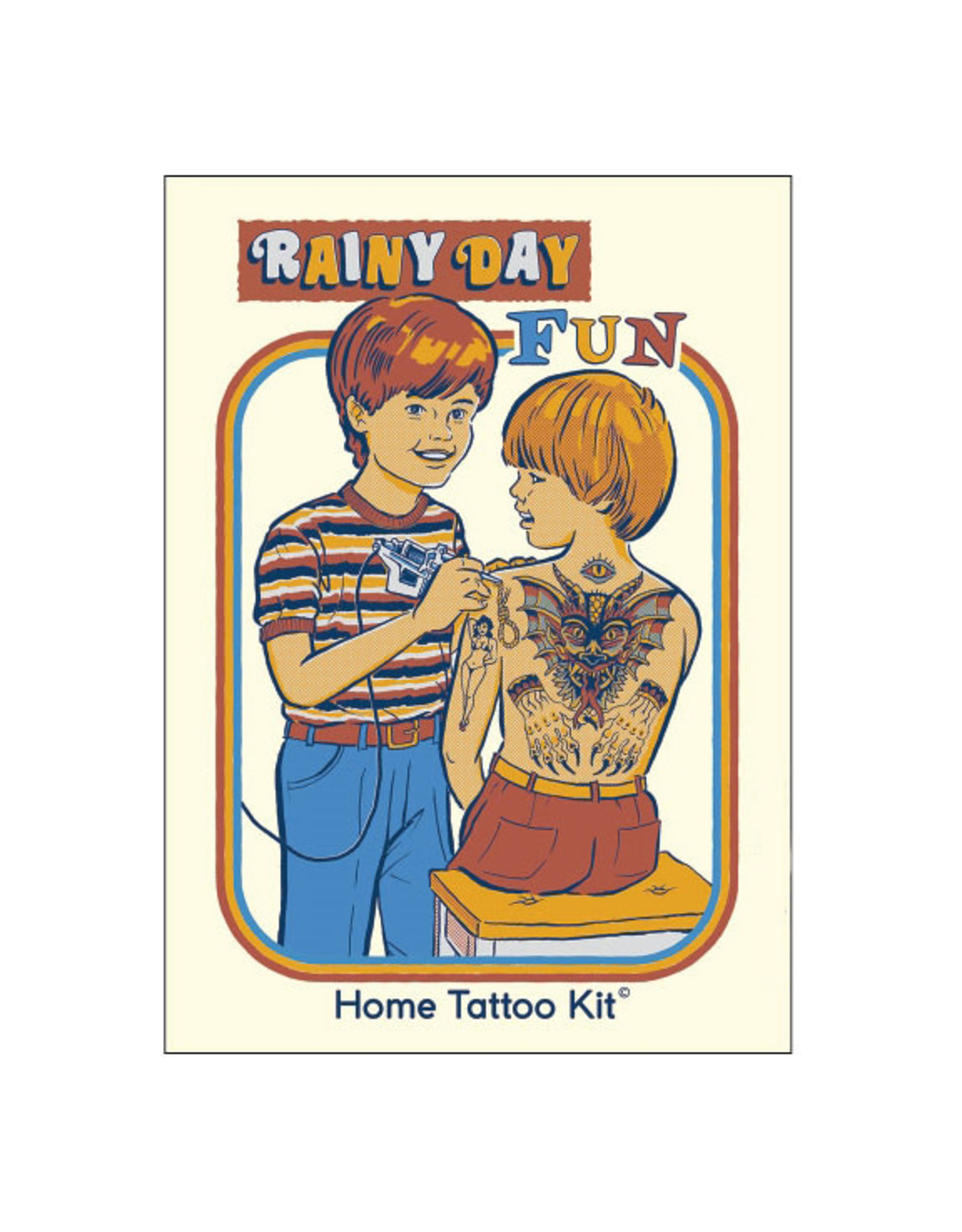 Rainy Day Fun Home Tattoo Kit Magnet