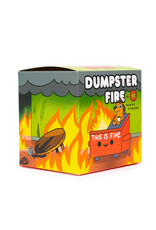 This Is Fine Dumpster Fire Figure