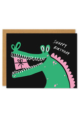 Snappy Birthday Gator Greeting Card