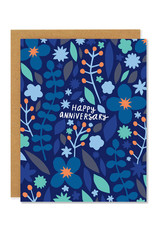 Happy Anniversary Meadow Greeting Card