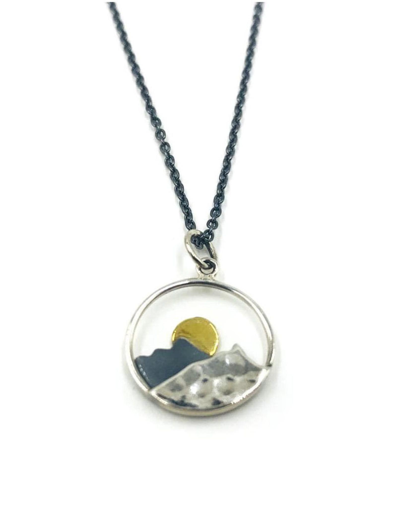 Mountain Sunrise Necklace