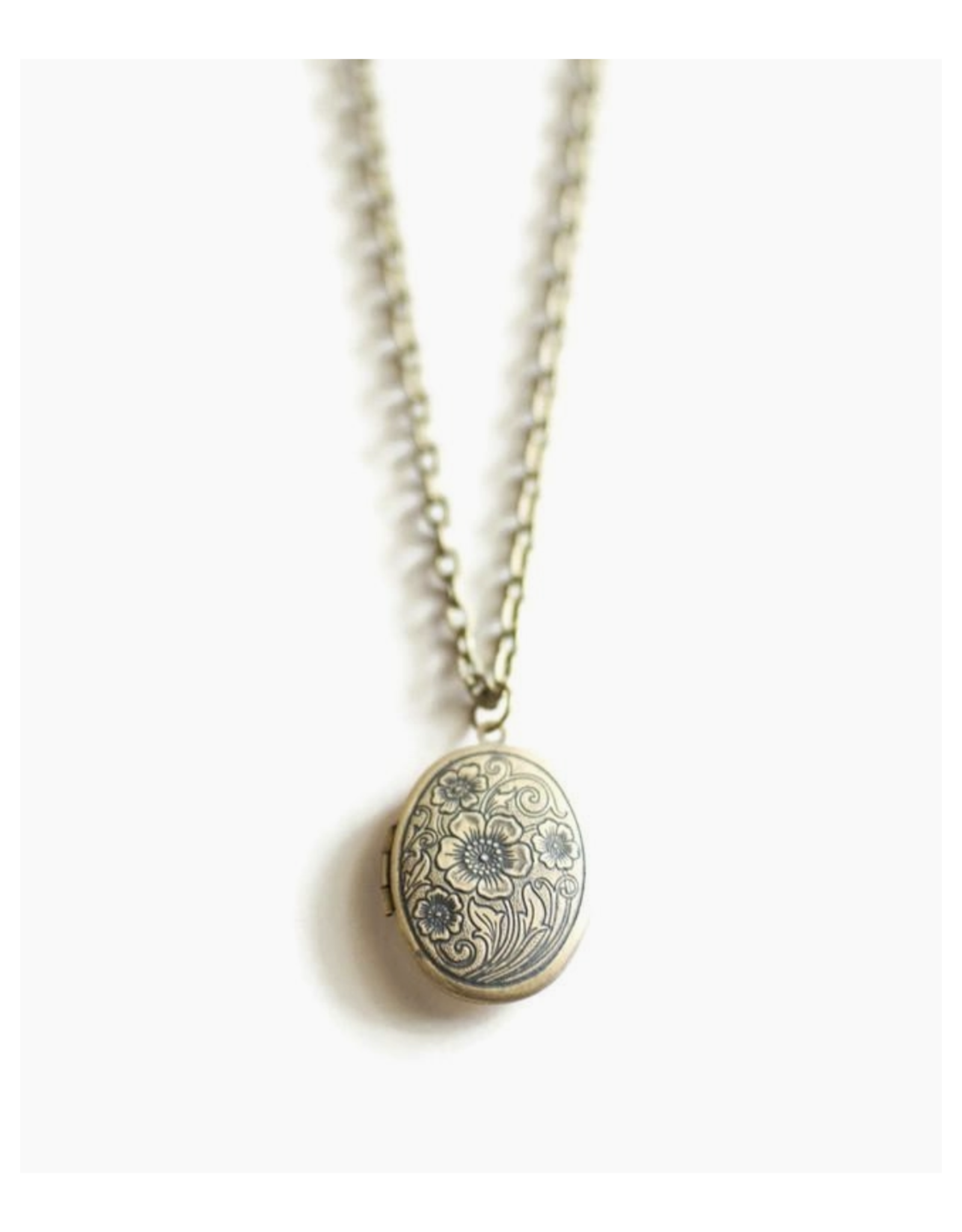 Stay Close Locket Necklace