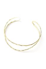 Twig Cuff - Brass