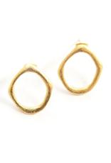 Abstract XL Stud Earrings