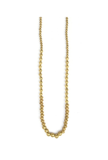Graduated Artillery Necklace - Brass