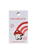 Little Cap Mushroom Enamel Pin