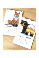Swimsuit Animals 2022 Calendar
