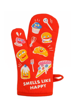Smells Like Happy Oven Mitt