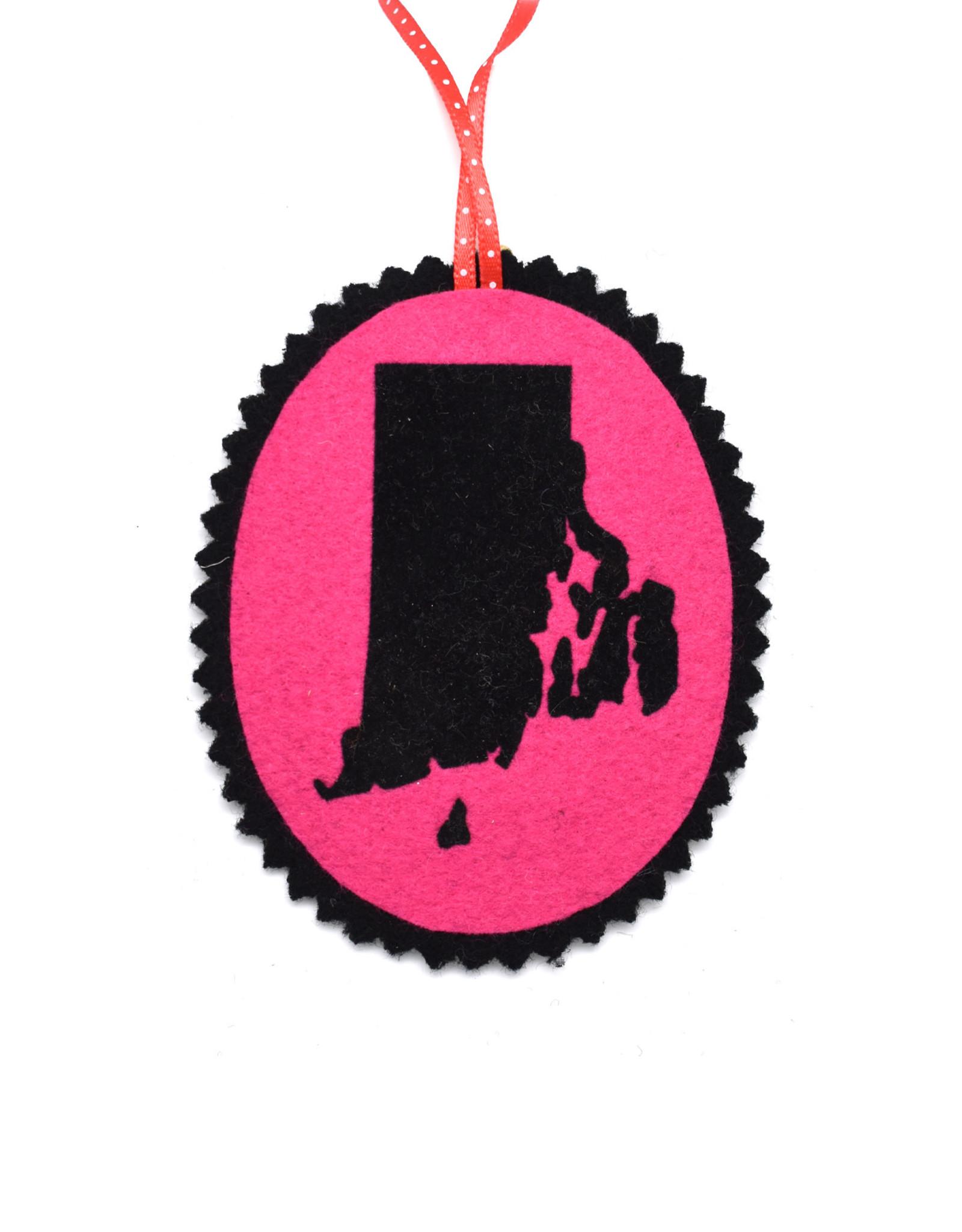 RI Felt Ornament (Lots of Colors!)