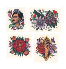 Frida Kahlo Tattoo Set