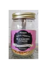 Blackberry Stinger Infusion Jar