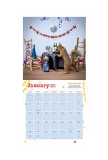 The Secret Life of Squirrels 2022 Wall Calendar