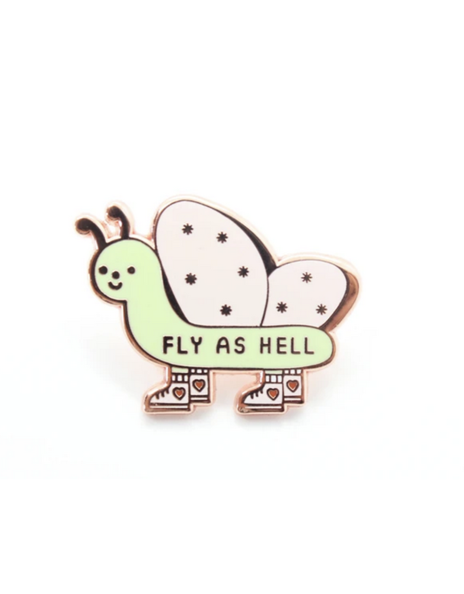 Fly As Hell Pin