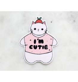 I'm Cutie Sticker