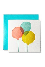 Balloons Tiny Card