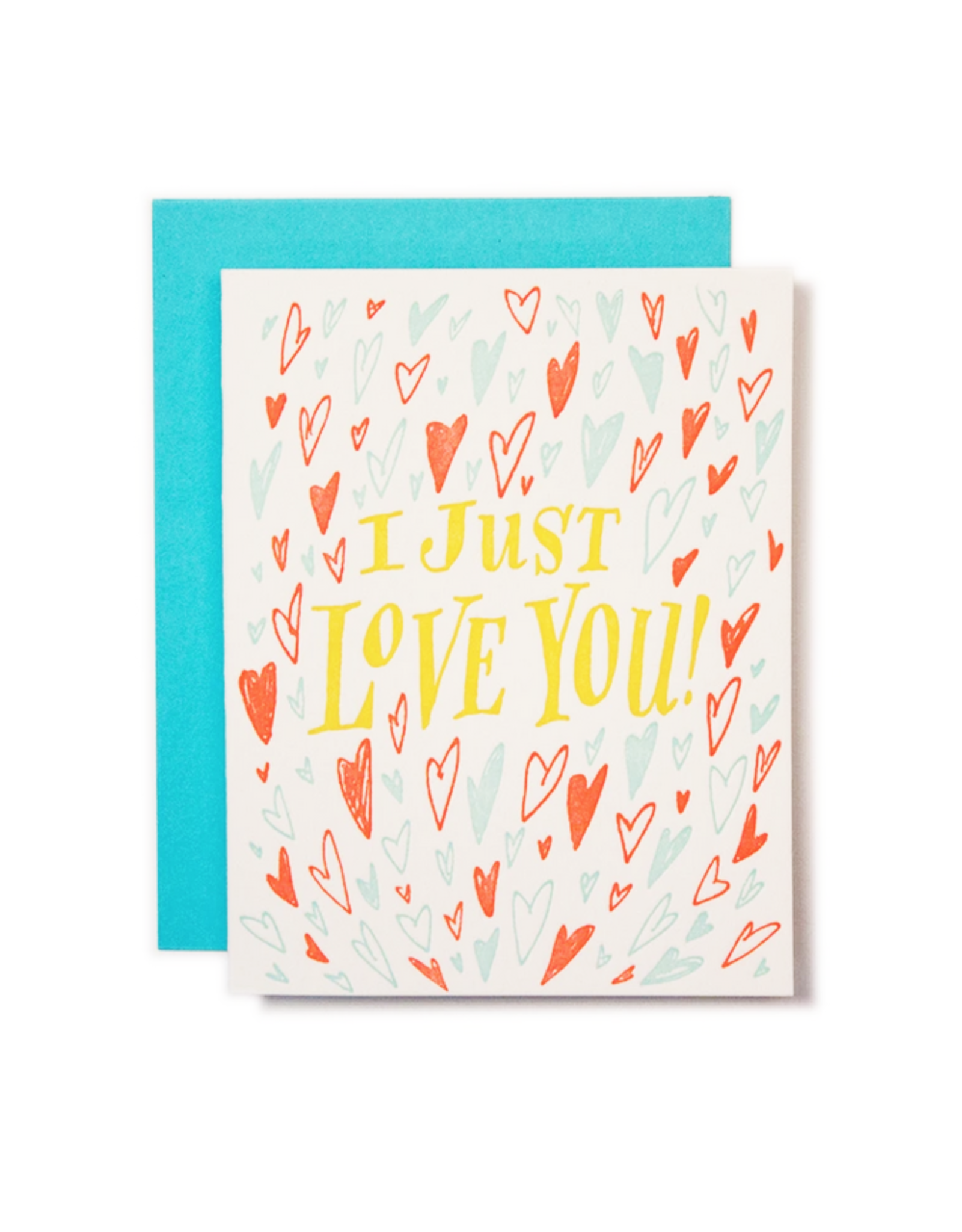 I Just Love You Greeting Card