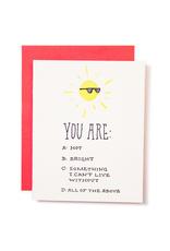 Sun Love Greeting Card