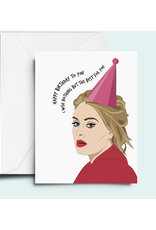 Adele Birthday Greeting Card