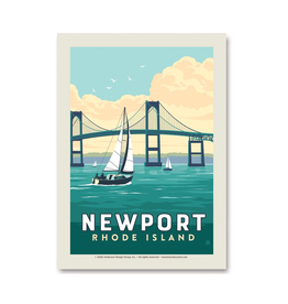 Newport Bridge Sticker