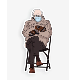 Bernie Mittens Sticker