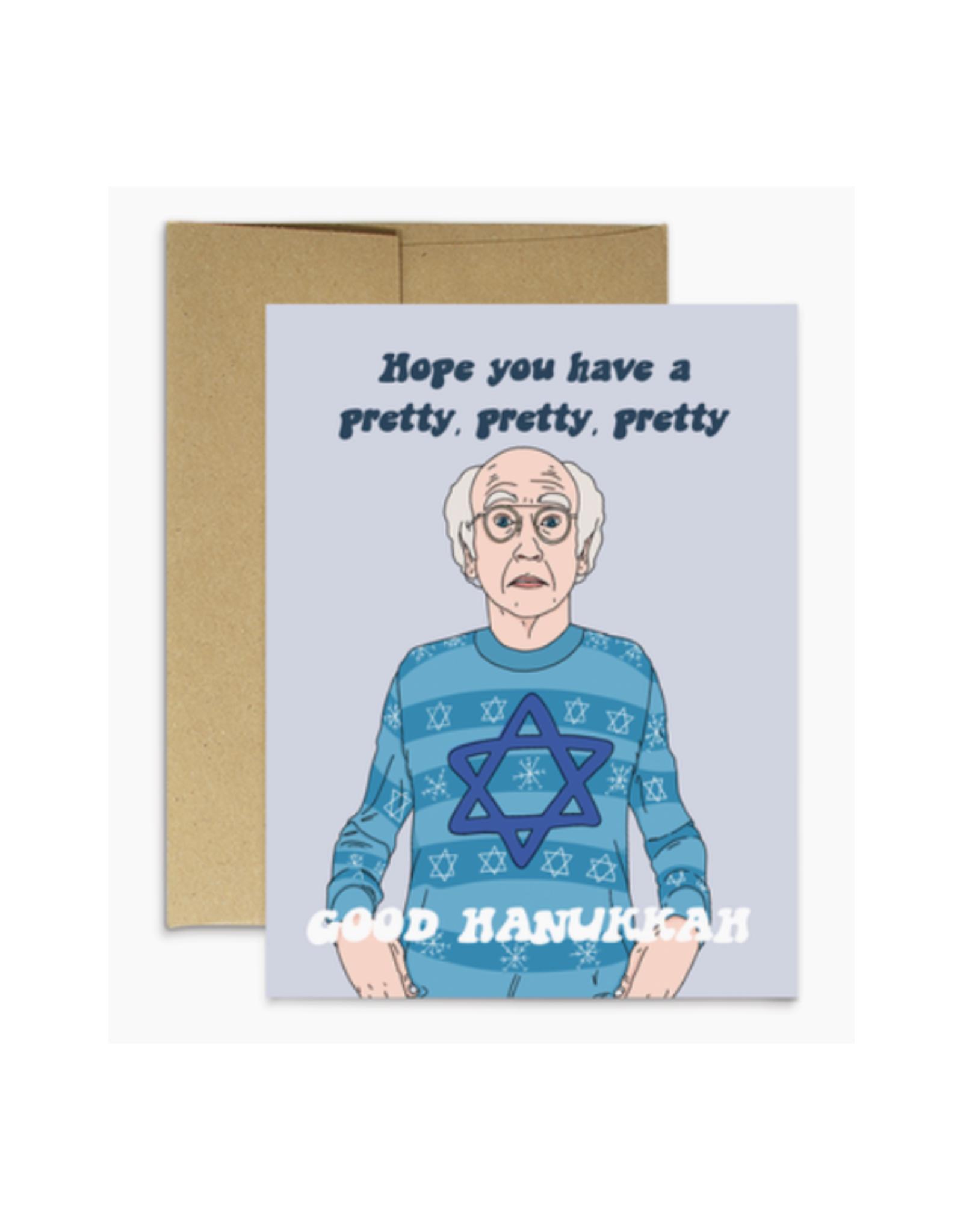 Pretty Good Hanukkah (Larry David) Greeting Card