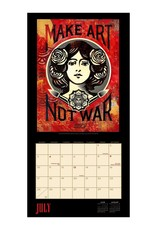 Shepard Fairey 2022 Wall Calendar